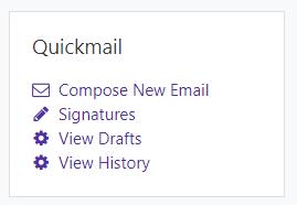 Quickmail block