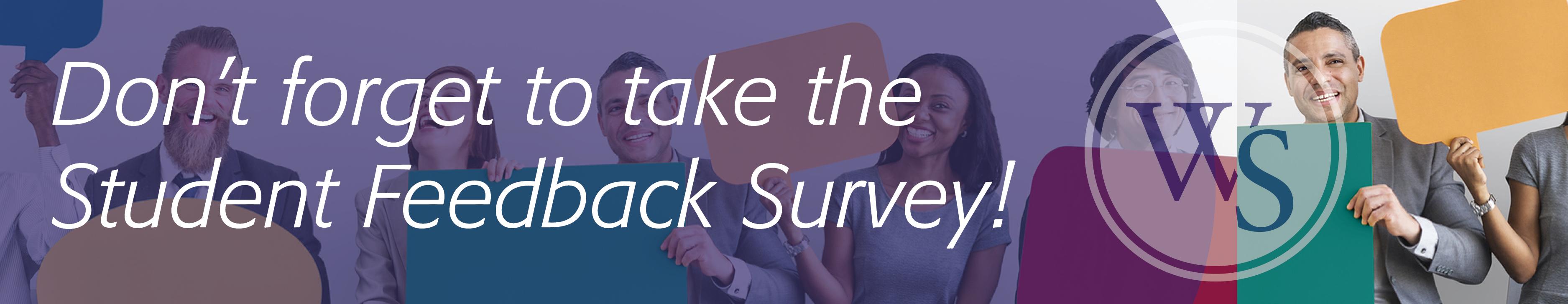 Student Feedback Survey Header Image